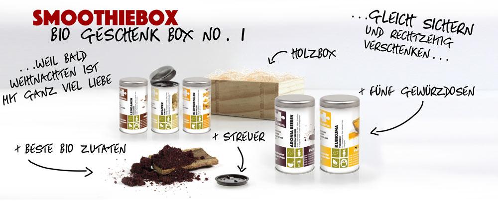 Naturteil Geschenke Smoothiebox