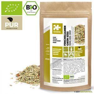 Fennel Seeds Organic - Sweet, Whole