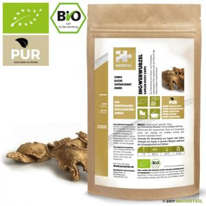 Ginger Root Peeled Chips Organic