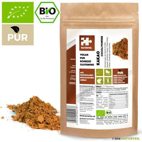 200 g Cacao Powder Organic