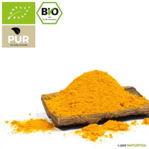 Turmeric Root Ground Organic - NATURTEIL