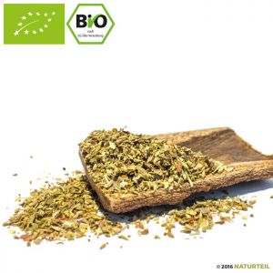 Organic rubbed oregano in spice jar - Naturteil