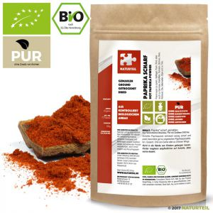 Hot Paprika Powder Organic