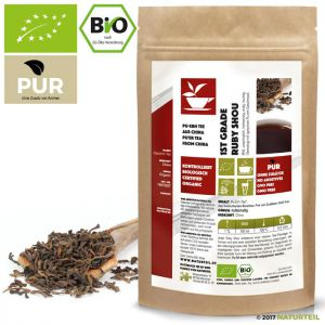 China Ruby Shou 1st Grade Pu Erh Bio