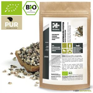 Black Pepper Crushed Organic