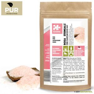 500 g Pink Pakistani Rock Salt Fine