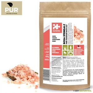 500 g Pink Pakistani Rock Salt Coarse