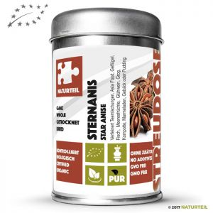 20 g Star Anise Whole Organic - Spice Jar
