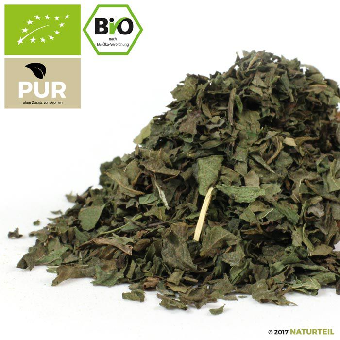 Organic Peppermint Leaves Cut