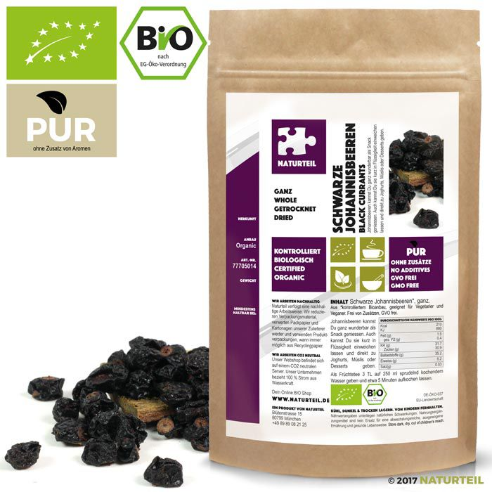Organic Black Currants