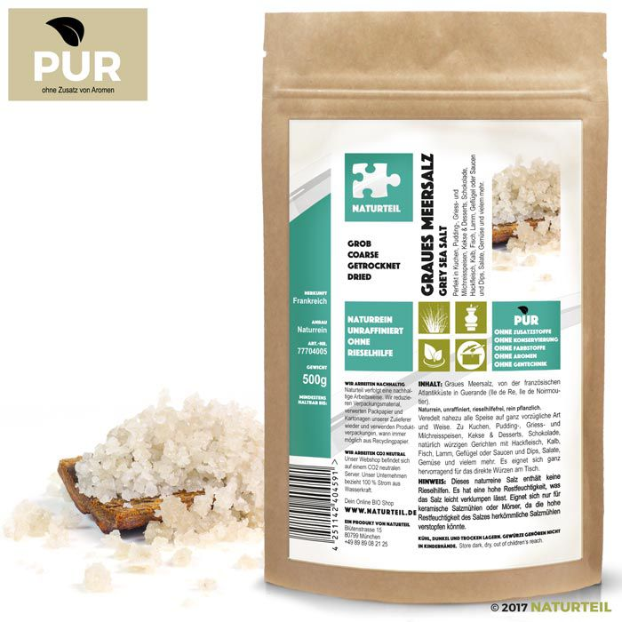 Grey Sea Salt France Coarse 500g