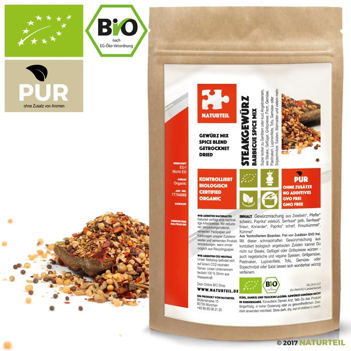 Barbecue Spice Mixture Organic