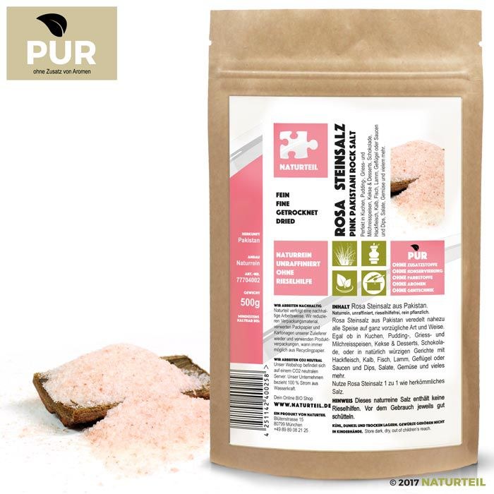 Pink Pakistani Rock Salt Fine 500g